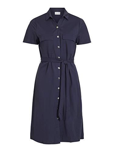 Vila Dames blouse-jurk VISAFINA