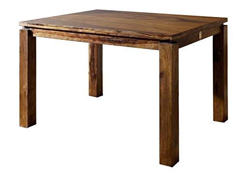 MASSIVMOEBEL24.DE Sheesham Möbel Holz massiv Esstisch 90x90 Palisander Life Honey Massivmöbel Metro Life #151