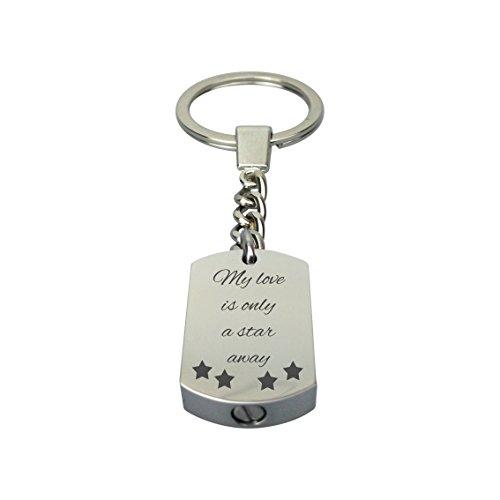 Mi Amor Es Sólo Una Estrella de distancia urna llavero con...