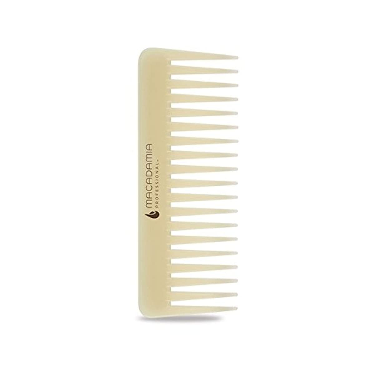 危険記憶に残る岩Macadamia Healing Oil Infused Comb (Pack of 6) - マカダミアヒーリングオイル注入櫛 x6 [並行輸入品]