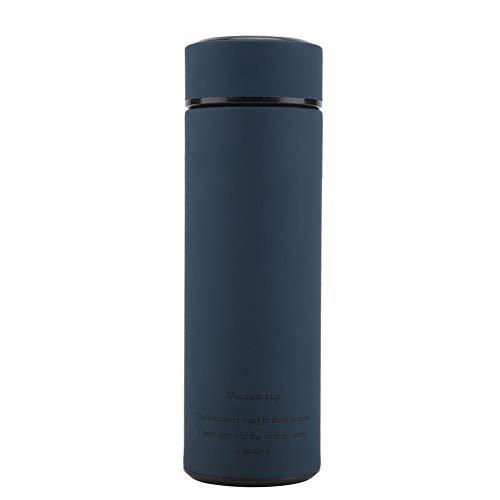 Jadpes Tazas de termo Tazas de acero, Botella de agua al vacío, termo de acero inoxidable Tazas de té de agua Tazas rectas para el hogar Oficina de negocios Camping Viajes(#2)
