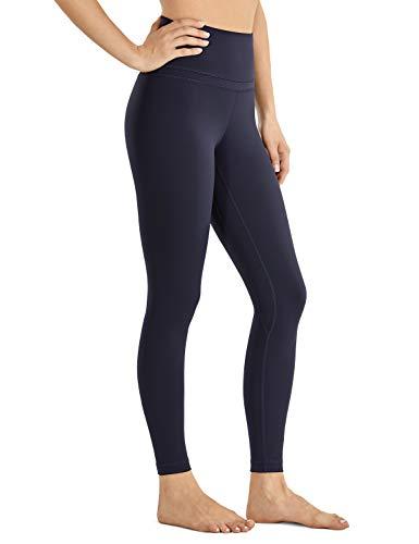 CRZ YOGA CRZ YOGA Damen Sports Yoga Leggings Sporthose mit Hoher Taille-Nackte Empfindung -63cm Marine 38