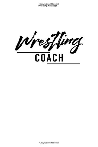 Wrestling Notebook: 100 Pages | Graph Paper Grid Interior | USA Coaching Fighting Team Wrestle Gift Mixed Martial Arts MMA Class Coach Fighter Gym Fight