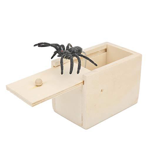 Spider Scare Box, lustiga Scare Box Natural för hem för vuxna