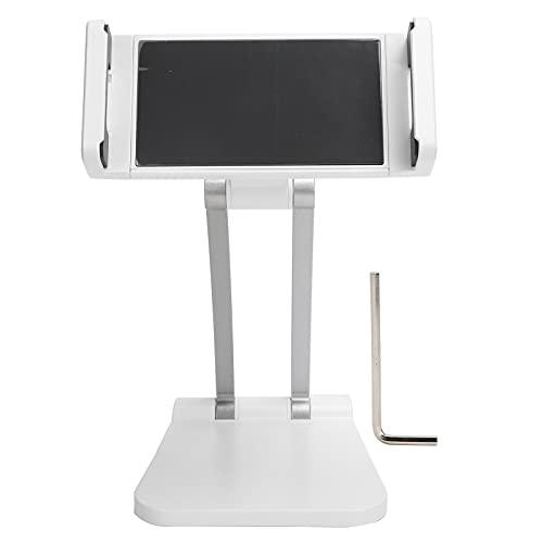 KAKAKE Soporte para teléfono, Soporte para teléfono Celular Ajuste de rotación de 360 Grados Fácil de Instalar Almohadilla de Goma Antideslizante para teléfonos para tabletas(White)