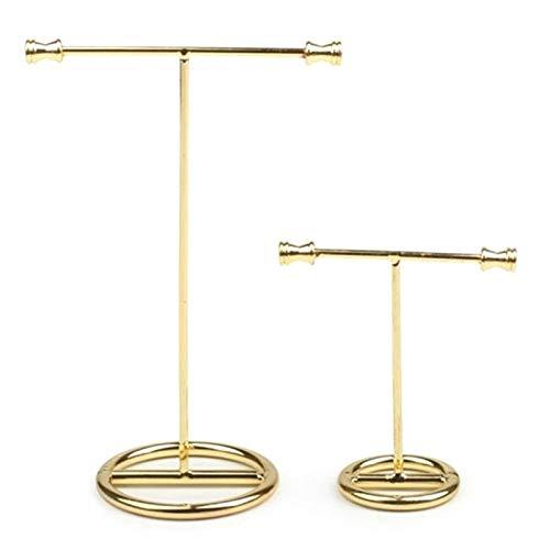 PPuujia Soporte de exhibición Pantalla de exhibición de la joyería Pantalla Pendiente Pendiente Pendiente Soporte Collar Joyería de Almacenamiento (Size : 7.5cmx4cmx8cm)