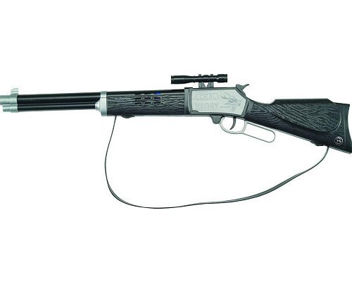 Schrödel - Carabine en métal et plastique - Henry Knallgewehr - 100 coups : 53 cm