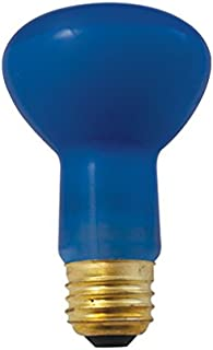 Bulbrite 710250 50R20PG 50-Watt Incandescent Plant Grow R20 Reflector, Medium Base, Blue (Pack of 6)