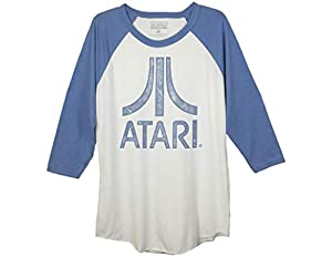 Vintage Atari Baseball Raglan Shirt