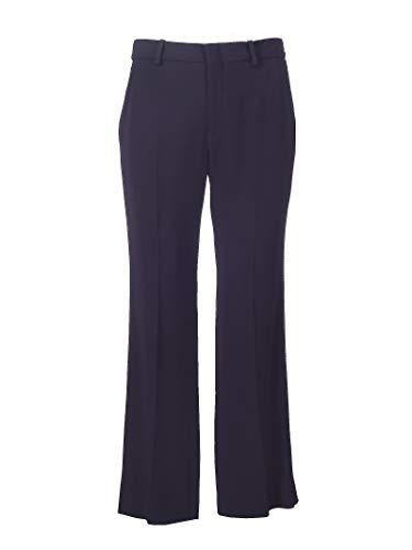 Luxury Fashion | Gucci Dames 610947ZKR014474 Donkerblauw Viscose Broeken | Lente-zomer 20