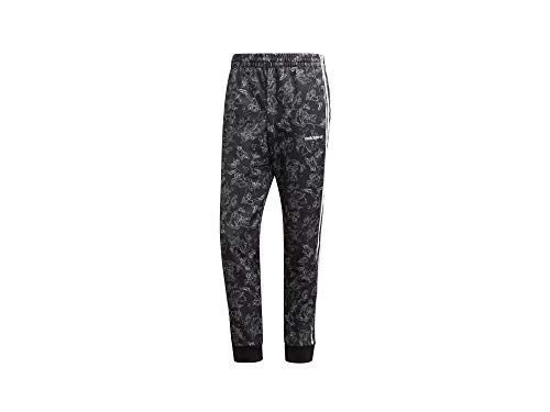 adidas Goofy SST TP Sport Trousers, Hombre, Black/White, M