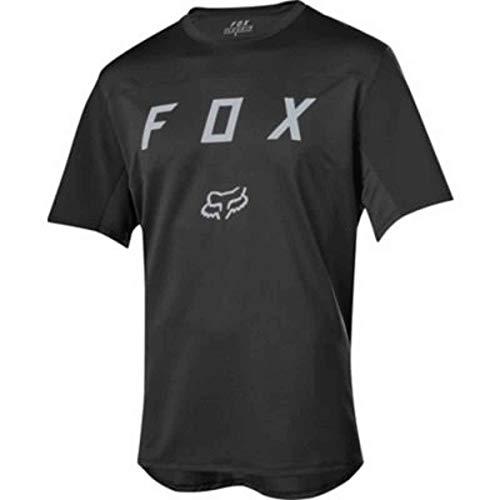 Fox Flexair Ss Moth Jersey Black