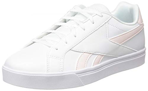 Reebok Royal COMPLETE3LOW, Zapatillas de Tenis Mujer, Blanco/GLAPNK/Blanco, 39 EU