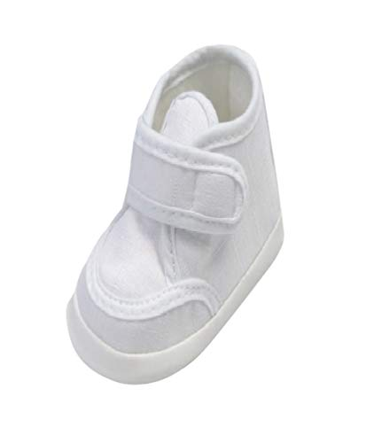 Zapatos de Fiesta para Bautizo o Boda – Zapatos de Bautizo para bebé, bebé, niño, en Diferentes tamaños n 16 – 19, Color, Talla 19 EU