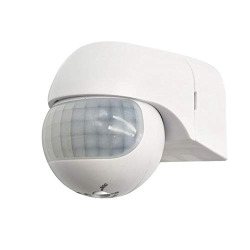 Samxu PIR Motion Sensor Light Switch, High Sensitive Wall Switch for Indoor&Outdoor Use, 49Ft Detection Distance 800W (85-240V AC)
