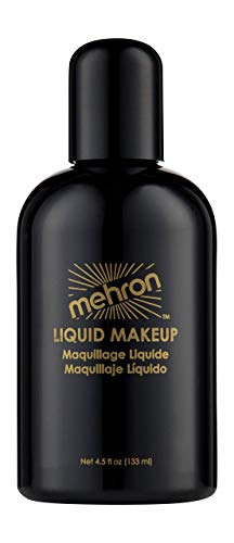 Mehron Liquid Face Paints - Black B (4.5 oz) by Mehron (English Manual)