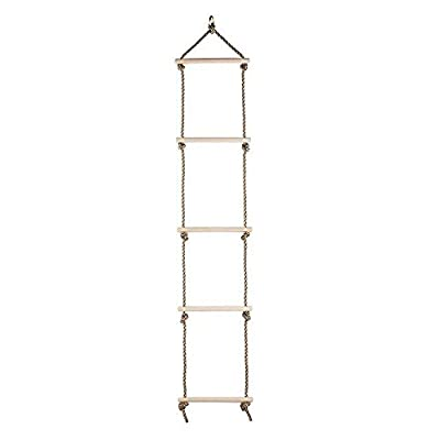 COMINGFIT Sturdy Rope Climbing Ladder for Kids from COMINGFIT