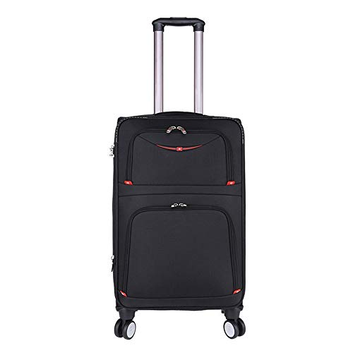 Buy Bargain Suitcase Luggage 3-piece Nesting Set, Expandable Column-carrying Luggage, Soft-shell Lig...