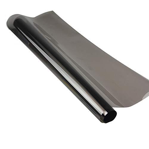 Lfldmj 300cmx50cm Schwarz Autofensterfolien Tönung Tönung Filmrolle Fensterglas Sommer Solarschutz Aufkleber Folien