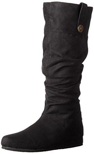 Funtasma Men's Ren104/bmf Ankle Bootie, Black Microfiber, 13 M US