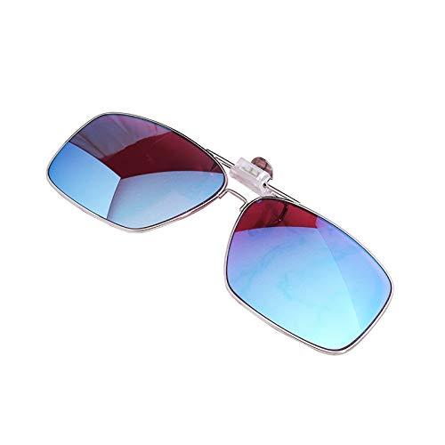 BBJOZ Color Blind Glasses - Clip-on Red and Green Blindness Correction Glasses for Myopia Glasses