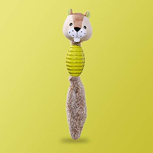 ZY Hundespielzeug Heimtierbedarf Hündchen Teddy Stimmspielzeug Widerstand Molaren zu beißen Große Welpen Artifact entlasten Langeweile Schreiende Hühnervorräte Begleitendes Spielzeug,Otter