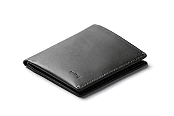 Bellroy Note Sleeve Wallet  Slim Leather Bifold Design RFID Blocking Holds 4-11 Cards Coin Pouch Flat Note Section  - - Charcoal - RFID