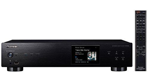 Pioneer N-50AE-B Netzwerkspieler mit Integriertem Airplay, Hires Audio, FireConnect für Multi-Room Wiedergabe, Internetradio schwarz