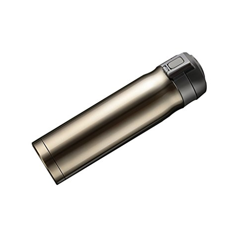 TD23 Tasse d'isolation en acier inoxydable de haute qualité automatique d'ouverture et de fermeture de la tasse portative d'affaires hommes et femmes d'isolation 500ml (Couleur : 1)