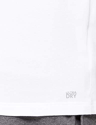 Lacoste TH7618, Camiseta para Hombre, Blanco (Blanc), Medium (Talla del fabricante: 4)