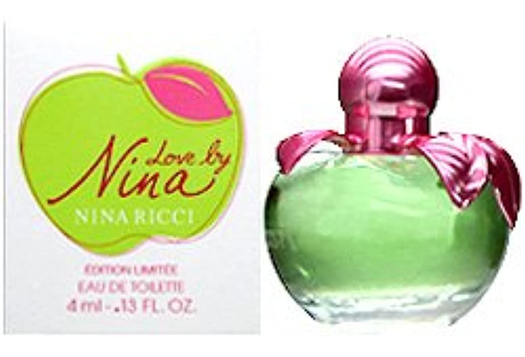 煙突針お気に入りニナリッチ ラブバイニナ ミニ香水 EDT4ml NINA RICCI [並行輸入品]