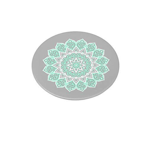 Soportes y soportes multifunción, 2021 con soporte expandible para smartphones, iPhone y tabletas, diseño de mandala de la paz Tiffany
