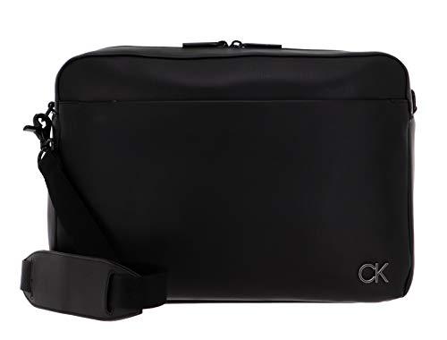 Calvin Klein Men's Messenger ACCESSOIRES, Black, One Size Medium