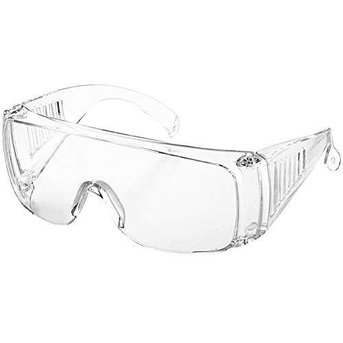 MOHOO ゴーグル 防曇ゴーグル 防塵ゴーグル 運動 作業保護 眼鏡着用可 (透明)