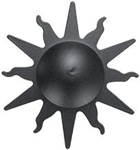 Imex El Zorro B-76838 B-76838-Bocallave lat/ón r/ústico Placa di/ámetro 65 mm