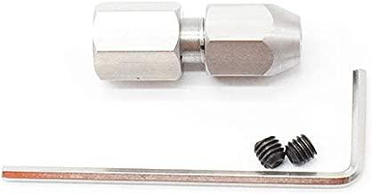 JIRCA Rainure en T standard en alliage daluminium 600 mm avec m/ètre-ruban de 1 m pour mod/èle 45