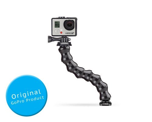 Adjustable Neck Gooseneck for GoPro Hero 1 Hero 2 Hero 3 Hero 3+ / Hero 3 Plus Camera - Black