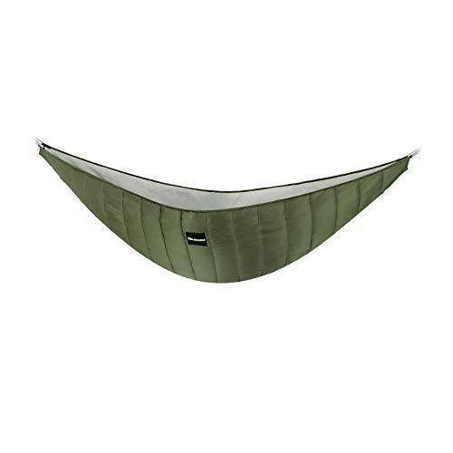 KING SHOWDEN Hammock Underquilt Lightweight Under Quilt Winter Hammock Underquilt Outdoor Camping Ultralight Underquilt Keep Your Warmer Portable Quilt for Hammock (Green)