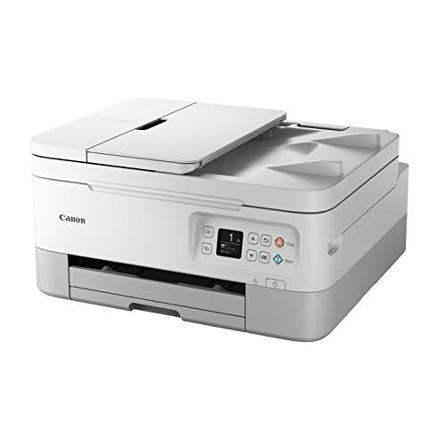 Canon PIXMA TS7450 - Impresora Multifuncional (Wi-Fi de inyección de Tinta) Blanca