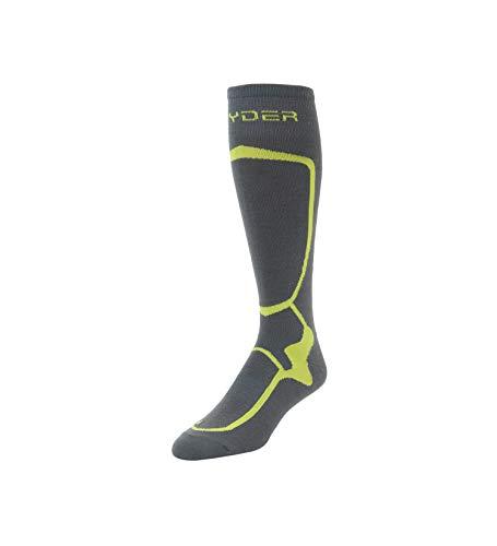Spyder Herren Men's Pro Liner Ski-Socken, Polar/Säure, Medium