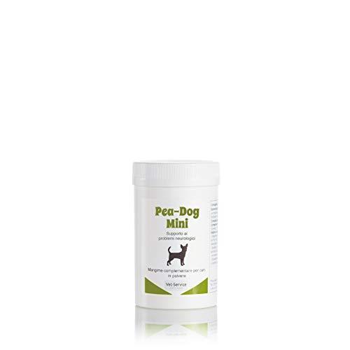 Pea-Dog Mini, conf. 30 gr, Supporto ai problemi neurologici - Mangime complementare (Integratore) per cani di taglia piccola - in caso di dolore neuropatico ed infiammazioni, con PEA ed oleuropeina