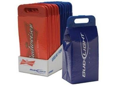 Bud Light Soft Face Insulated Cooler Pack portable détient 24 Cans