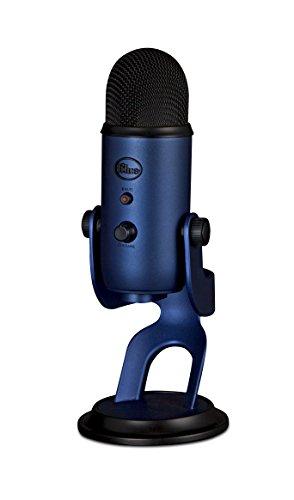 Price comparison product image Blue Microphones Yeti USB Microphone,  Midnight Blue - Renewed
