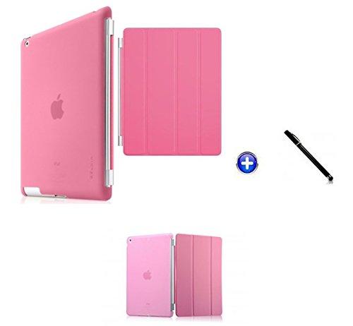 Capa Smart Case para iPad Mini 4/Capa Traseira/Caneta Touch (Rosa)