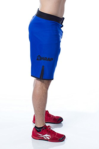 Amrap Men's Hybrid Shorts for Crossfit WOD 32 Blue