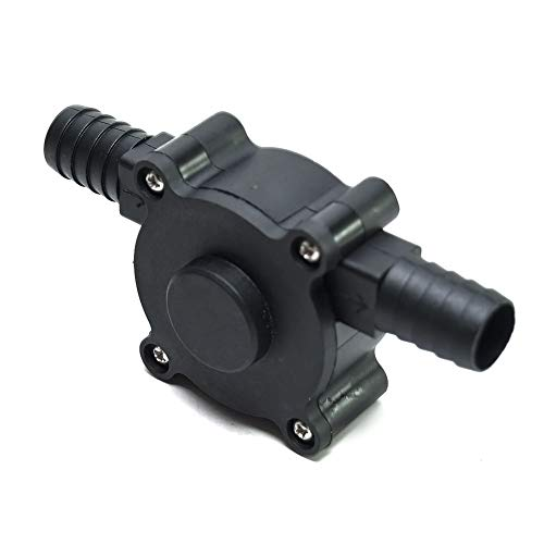 Machgrin Hand Electric Drill Pump Portable Oil & Fluids Diesel, Kerosene, Water Transfer Drill Pump Kit
