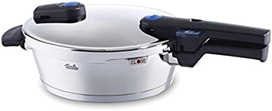 Fissler FISS-60030002009 vitaquick Pressure Coocker Stainless Steel Induction, 2.7 Quart, silver