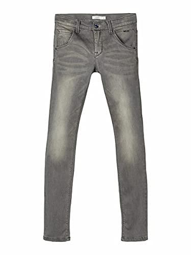 NAME IT Jungen Nitclas Xsl/Xsl Dnm Pant Nmt Noos Jeans, Dark Grey Denim, 140 EU