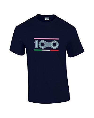 Mlxg Giro d'Italia 100th Edition Cycling Bike Printed Cotton T-Shirt - Noir - Taille Unique