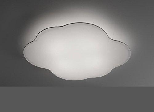 ANPERBAR - Plafón De Techo Nube 60 x 52 Tela Elástica Lavable, Color Blanco